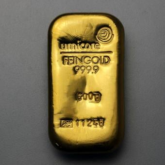 Goldbarren 500g UMICORE (Resale)