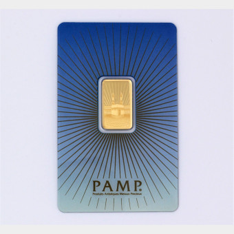 """Goldbarren 5g PAMP """"Mekka - Ka Bah"""""""