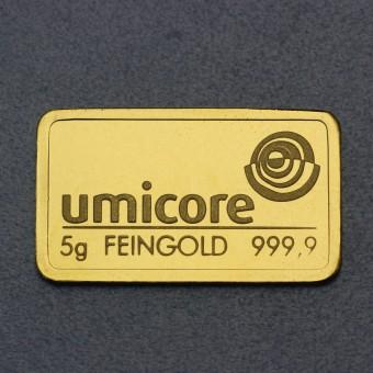 Goldbarren 5g UMICORE (Resale)