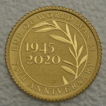 "Goldmünze 0,5g ""End of World War II"" 2020 75th ANNIVERSARY"