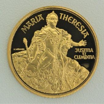 "Goldmünze ""1000 Schilling-1993 Maria Theresia"""