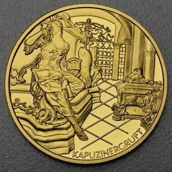 "Goldmünze ""1000 Schilling-1999 Kaiser Karl I."""