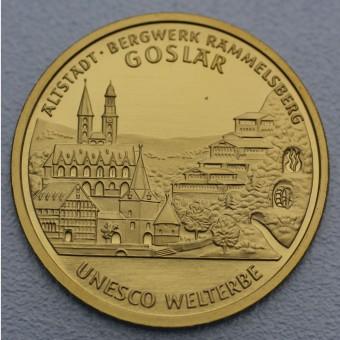 """Goldmünze """"100Euro BRD 2008 Goslar"""""""