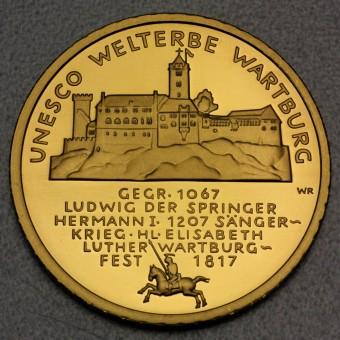 "Goldmünze ""100Euro BRD 2011 Wartburg"""