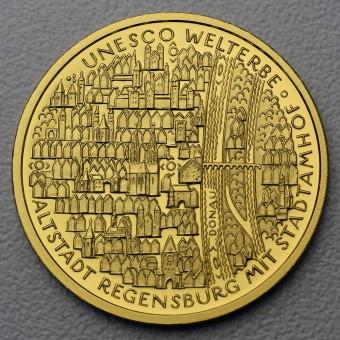 "Goldmünze ""100Euro BRD 2016 Regensburg"""