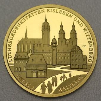 "Goldmünze ""100Euro BRD 2017 Wittenberg"""