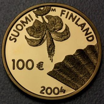 "Goldmünze ""100 Euro-2004"" (Finnland)"
