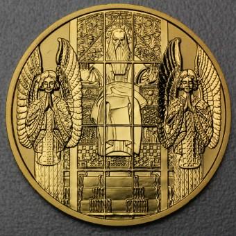 "Goldmünze ""100 Euro-2005 Kirche Steinhof"" (Österr)"