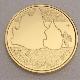 "Goldmünze ""100 Euro-2016"" (Finnland)"