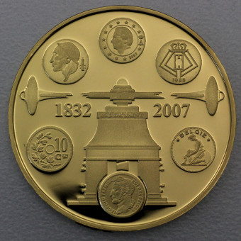 "Goldmünze ""100 Euro Münzprägung-2007"" (Belg)"