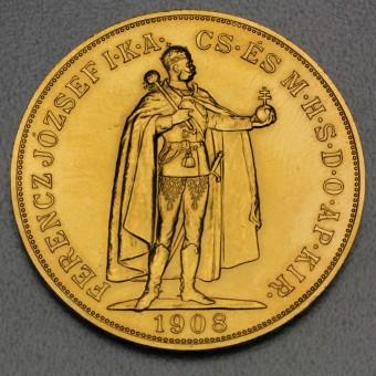 """Goldmünze """"100 Korona/Kronen"""" (Ungarn-Österreich)"""