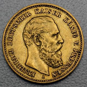 "Goldmünze ""10 Mark Friedrich"" (Preußen)"