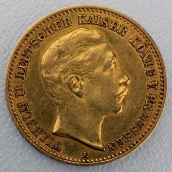 "Goldmünze ""10 Mark Wilhelm II."" (Preußen)"