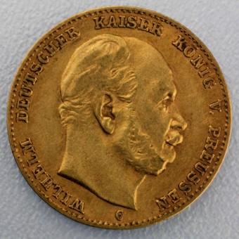 "Goldmünze ""10 Mark Wilhelm I."" (Preußen)"