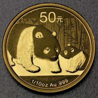 """Goldmünze 1/10oz """"Panda - 2011"""" (China)"""