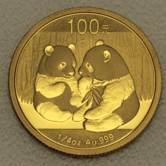 """Goldmünze 1/4oz """"Panda - 2009"""" (China)"""