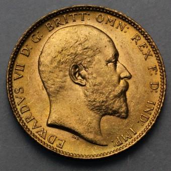 "Goldmünze ""1 Sovereign/Edward VII."" (UK)"