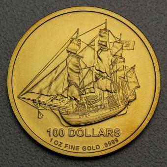 "Goldmünze 1oz ""COOK Islands -Bounty"" (Au)"