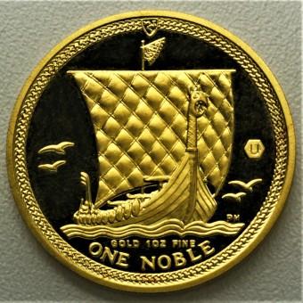 """Goldmünze 1oz """"Isle of Man Noble 2009"""" (Au)"""