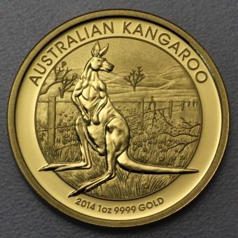 "Goldmünze 1oz ""Känguru 2014"" (Australien)"