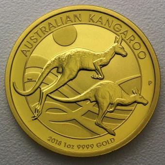 "Goldmünze 1oz ""Känguru 2018"" (Australien)"