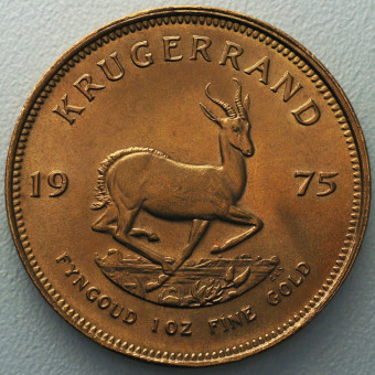 "Goldmünze 1oz ""Krügerrand 1975"""