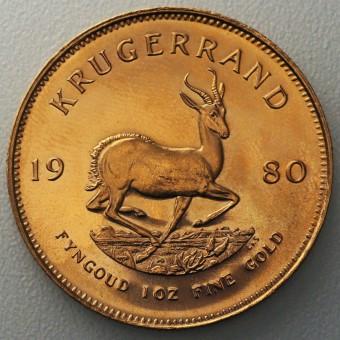 "Goldmünze 1oz ""Krügerrand 1980"""
