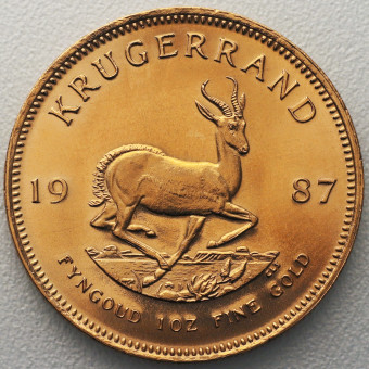 "Goldmünze 1oz ""Krügerrand 1987"""