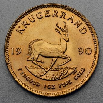 "Goldmünze 1oz ""Krügerrand 1990"""