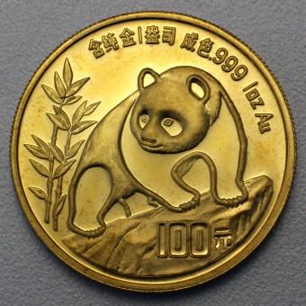 """Goldmünze 1oz """"Panda - 1990"""" (China)"""