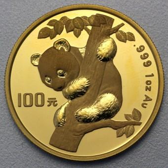 """Goldmünze 1oz """"Panda - 1996"""" (China)"""