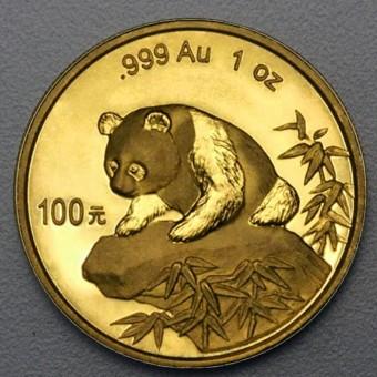 """Goldmünze 1oz """"Panda - 1999"""" (China)"""