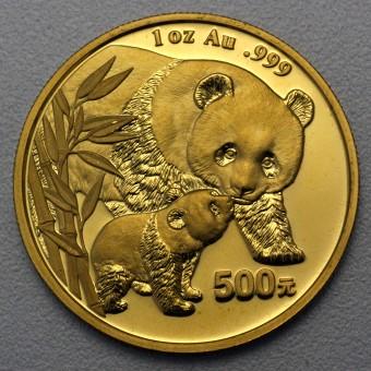 """Goldmünze 1oz """"Panda - 2004"""" (China)"""