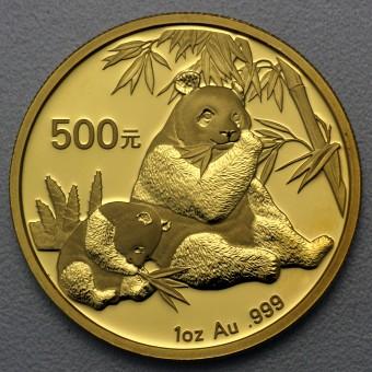 """Goldmünze 1oz """"Panda - 2007"""" (China)"""