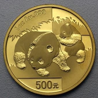"""Goldmünze 1oz """"Panda - 2008"""" (China)"""