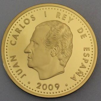 "Goldmünze ""200 Euro-2009 König Philipp II"" (Span.)"