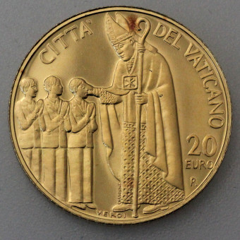 "Goldmünze ""20 Euro-2006 Die Firmung"" (Vatikan)"