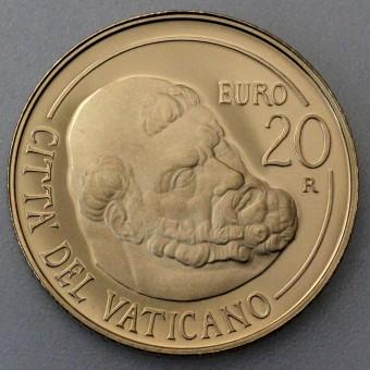 """Goldmünze """"20 Euro-2011 Paulin. Kapelle"""" (Vatikan)"""