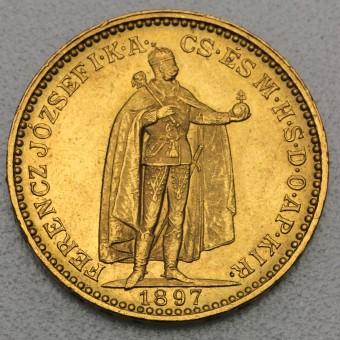 """Goldmünze """"20 Korona/Kronen"""" (Ungarn-Österreich)"""