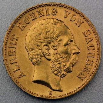 "Goldmünze ""20 Mark Albert"" (Sachsen)"