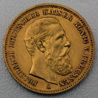 "Goldmünze ""20 Mark Friedrich"" (Preußen)"