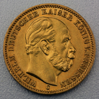 "Goldmünze ""20 Mark Wilhelm I."" (Preußen)"