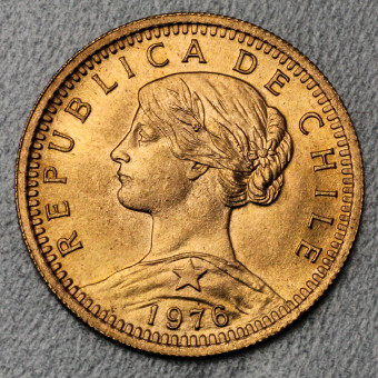 "Goldmünze ""20 Pesos - Liberty 1926-1980"" (Chile)"