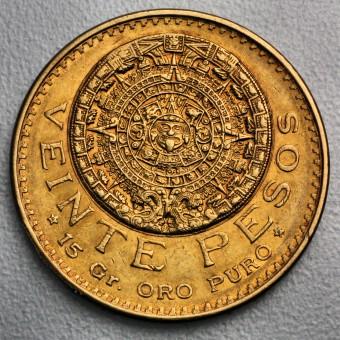 """Goldmünze """"20 Pesos Aztekenkalender"""" (Mexiko)"""
