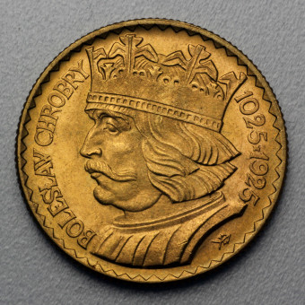 "Goldmünze ""20 Zloty - 1925"" (Polen)"
