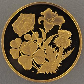 "Goldmünze 350 Dollar ""Four Flowers - 1998"""