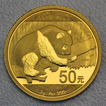 """Goldmünze 3g """"Panda - 2016"""" (China)"""