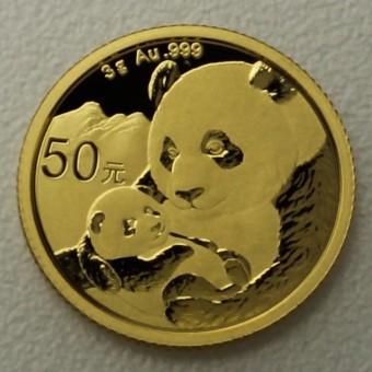 """Goldmünze 3g """"Panda - 2019"""" (China)"""