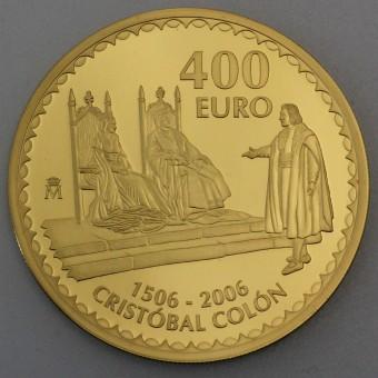 "Goldmünze ""400 Euro-2006 Cristobal Colon"" (ES)"