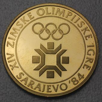 """Goldmünze """"5000 Dinar - 1982"""" (Jugoslawien)"""